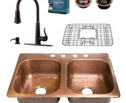 kitchen sink and faucet ideas copper kitchen faucet whitekitchencabinets org