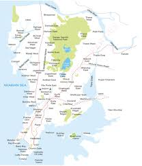 Mumbai Map Welcome To Maharashtra Political Parties In
