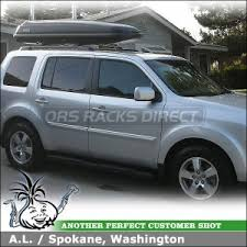 2013 honda pilot crossbars 2009 honda pilot ex roof top luggage box car rack advice