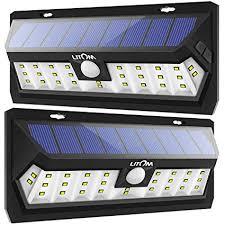 litom solar lights outdoor litom solar lights outdoor 30 led adjustable lighting time solar