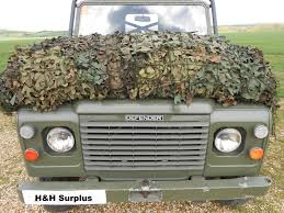 land rover camo military vehicle large camouflage camo netting pigeon hide 10m x