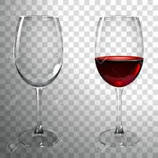 glass of wine glass of red wine on a transparent background royalty free