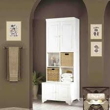 project tall white bathroom storage unit range of bathroom