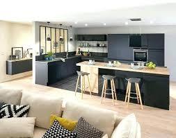 cuisine bois et metal table de cuisine en bois cuisine avec table en bois table de cuisine