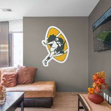 Green Bay Packers Bedroom Ideas Green Bay Packers Fathead Wall Decals U0026 More Shop Nfl Fathead