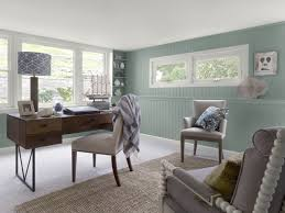 neutral color living rooms work office paint color schemes blue