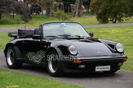 classic convertible porsche porsche 911 carrera 3 2 u0027wide body u0027 convertible auctions lot 37