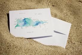 St Croix Map Watercolor Island Map Greeting Cards U2013 Us Virgin Islands
