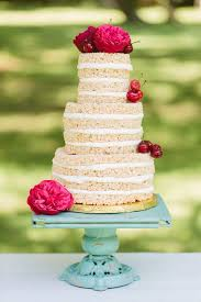 Wedding Cake No Icing 20 Delightful Wedding Cake Ideas For The 1950s Loving Bride Chic