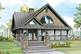 Home Plans For Narrow Lots Narrow Lot House Plans For Plan Craftsman Glen Eden 50 017 Front A