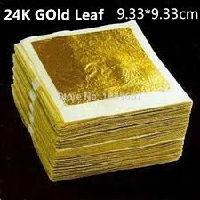 where to buy edible gold leaf 100 leaves 24k gold leaf edible gold foil beauty gold gold mask