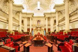 chambre du parlement lieu de réunion à l intérieur de chambre du parlement photographie