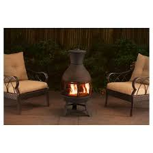 Best Type Of Chiminea Chimenea Fire Pits U0026 Patio Heaters Target
