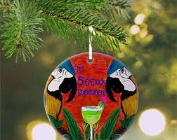 parrot ornament etsy