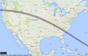 Time Zone Map For Usa Total Solar Eclipse 2017 Maps Of The Path