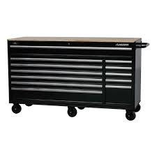 home depot black friday tools sale husky 66 in w 24 in d 12 drawer heavy duty mobile workbench