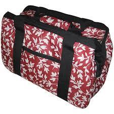 janetbasket eco bag red floral 5825094 hsn
