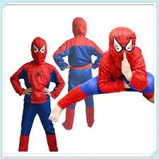 Childrens Spider Halloween Costume Aliexpress Buy Halloween Costume Party Spiderman Clothing