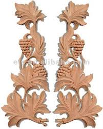 beautiful carved wood ornaments for furniture efs a t434