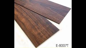 gray wood pattern resilient glue vinyl plank flooring factory