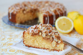 lemon almond coffee cake