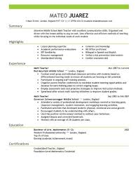 Resume Samples With Bullet Points by Substitute Teacher Duties On Resume Free Resume Example And