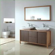 Wood Bathroom Vanity by Bathroom Storages Bari 59 Solid Wood Double Vanity Mirror Set Vm