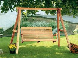 Backyard Cing Ideas For Adults Backyard Swings For Adults Design And Ideas Wooden Remodel 13