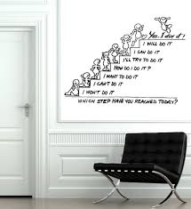 Wall Decals Amazon by Amazon Com Wall Decals Quote Motivation Which Step Have You