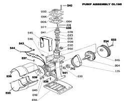 bostitch parts cap60p of ol195 pump air compressor