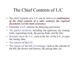 part 3 letter of credit main topics definition the features of l c