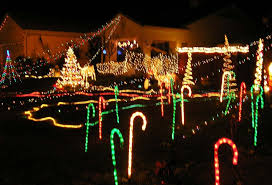 creative decoration candy cane christmas lights outdoor designs