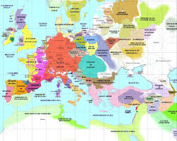 map of eurup european history maps