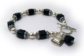 black swarovski crystal bracelet images Big birthstone crystals 8mm birthstone bracelet with square jpg