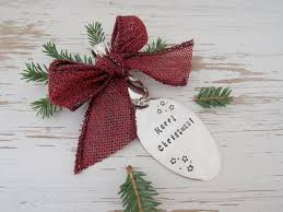 merry sted spoon ornament country