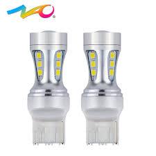 car brake light bulb nao 2x t20 led w21w 7440 auto led light bulbs car rear fog l