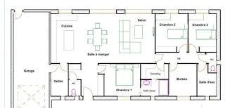 plan maison 120m2 4 chambres plan de maison 120m2 plain pied lzzy co
