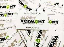 bureau discount vermont discount card vermont convention bureau