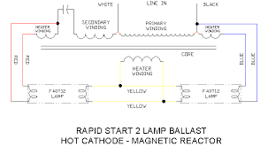 f40 t12 2 lamp ballast schematic type1 ecn electrical forums