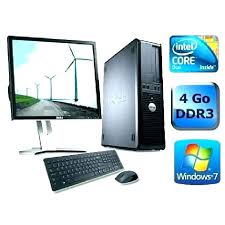 ordinateur de bureau windows 7 occasion cdiscount ordinateur bureau meetharry co