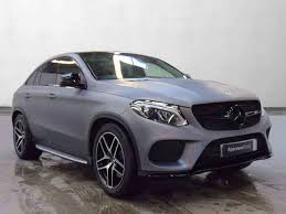 mercedes stratstone used mercedes gle coupe estate petrol in matt grey wrap from