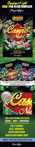 casino night u2013 free flyer psd template u2013 by elegantflyer