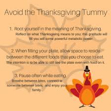 avoid the thanksgiving tummy holistic image coaching