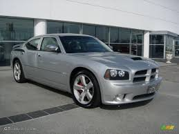 bright silver metallic 2007 dodge charger srt 8 exterior photo