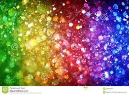 rainbow of lights stock illustration image 44995691