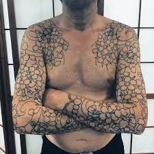 men show nice japanese flower tattoo golfian com