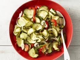 cold salads cold cucumber salad recipe trisha yearwood food network