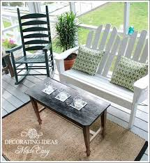 Patio Furniture On A Budget Porch Decorating Ideas On A Budget