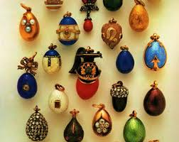 faberge imperial easter egg packing cases print russian eggs