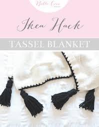 Ikea Blanket Tassel Blanket Ikea Hack Bella Coco By Sarah Jayne